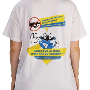 T-shirt Ambassadeur - Zéro Megot