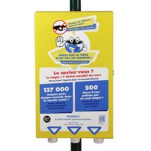 Nos distributeurs 3 colonnes avec gel hydro-alcoolique